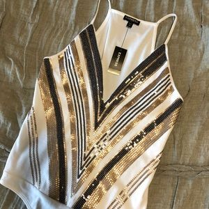 express sequin bodysuit